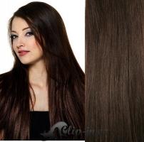 50 cm vlasy pro metodu Tape IN - odstín tmavě hnědá #2