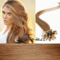 60 cm vlasy pro metodu Keratin 0,5 g - odstín světle hnědá #12