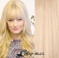 Clip in ofina - nejsvětlejší blond #613