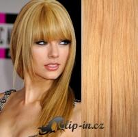 Clip in vlasy 51 cm, 100 g - přírodní blond #22