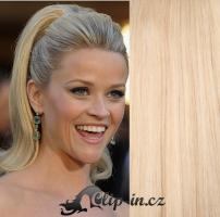 Culík kanekalon rovný 60 cm - nejsvětlejší blond #613