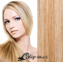 Culík kanekalon vlnitý 60 cm - přírodní/světlejší blond #18/22