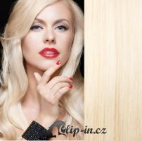 DELUXE clip in vlasy 41 cm, 140 g - platina #60