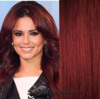 DELUXE clip in vlasy 71 cm, 280 g - měděná #350